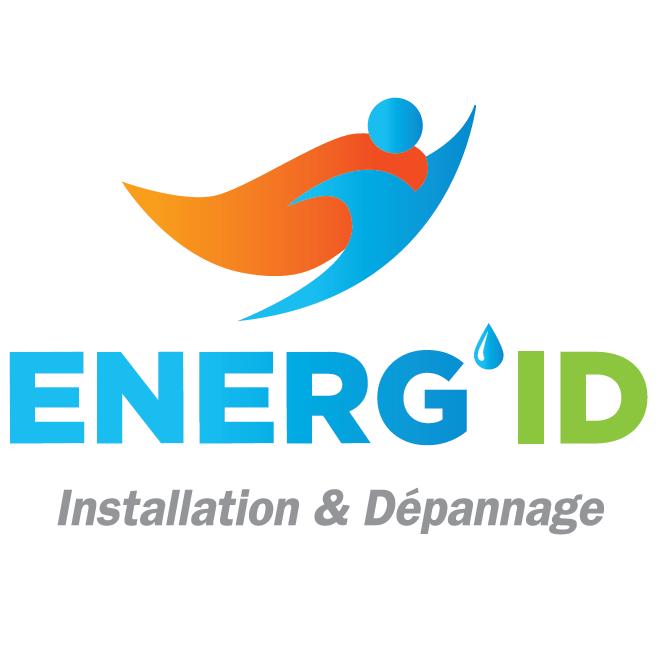 Logo de Energ'ID SARL, société de travaux en Fourniture et installation de lavabos, baignoires, douches, WC...