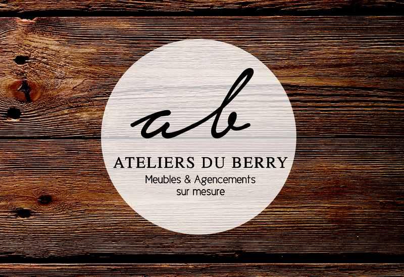 Logo de Ateliers du Berry, société de travaux en Fabrication de meubles en bois sur mesure