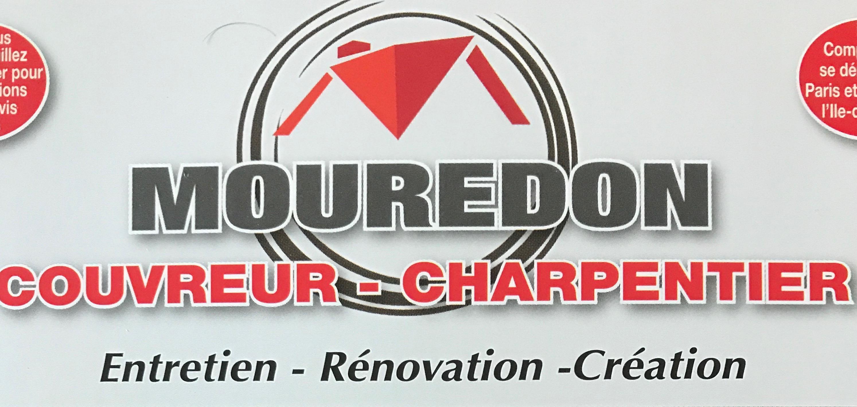 Logo de mouredon les compagnons des hauts de seine, société de travaux en Couverture complète (tuiles, ardoises, zinc)