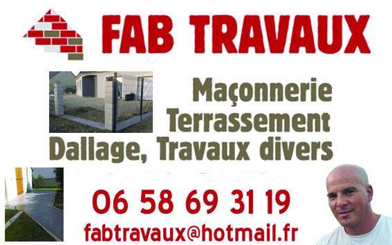 Logo de FAB TRAVAUX, société de travaux en
