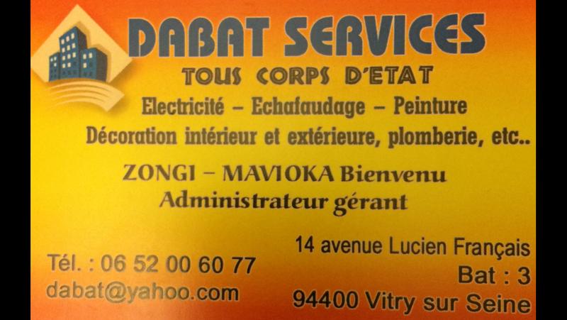 Logo de DABAT SERVICES, société de travaux en Installation électrique : rénovation complète ou partielle