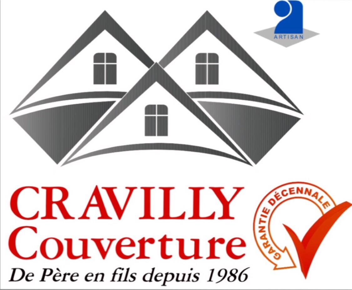 Logo de Cravilly couverture, société de travaux en Nettoyage de toitures - façades - bardages