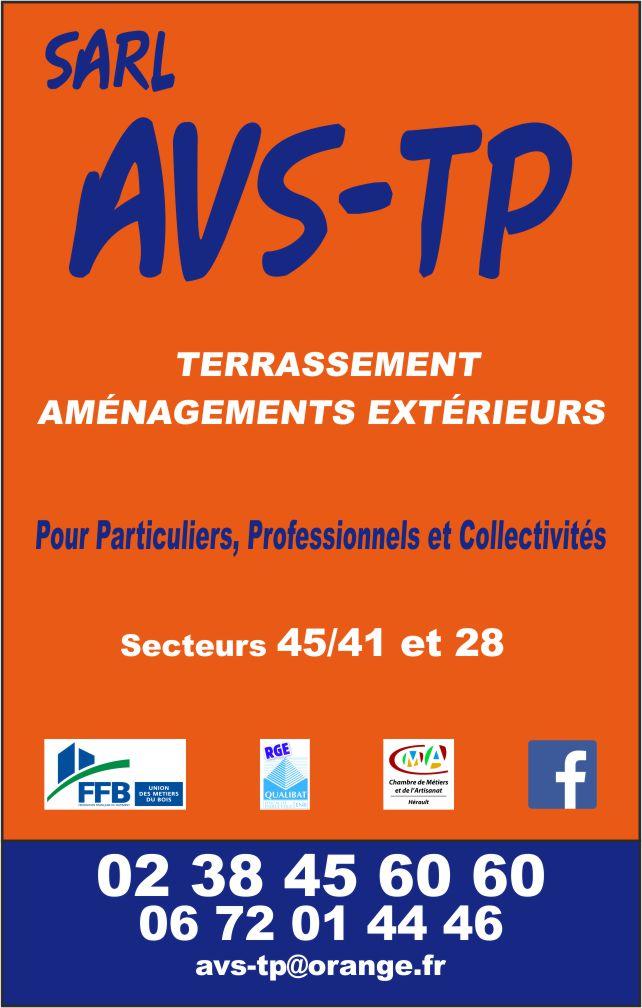 Logo de AVS-TP, société de travaux en Assainissement - Fosses septiques - forage