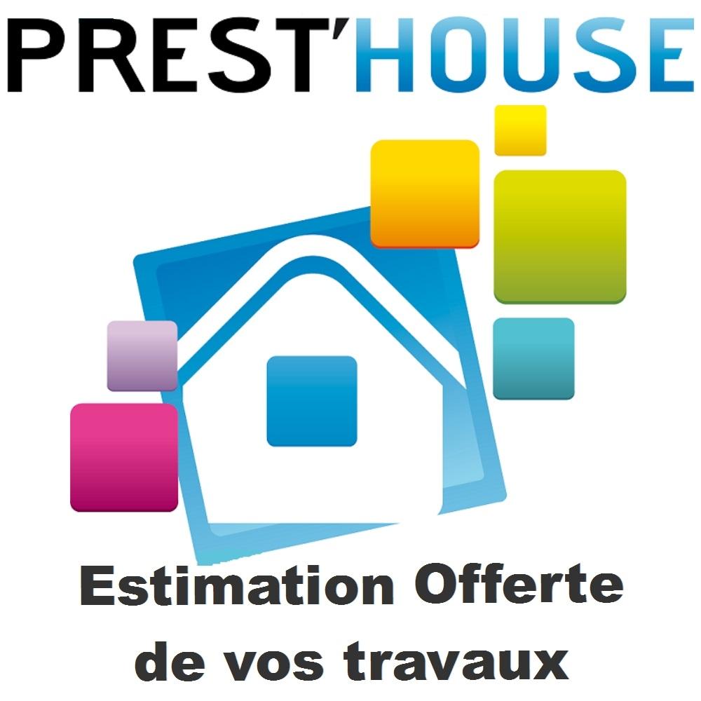 Logo de SAS PREST'HOUSE, société de travaux en Rénovation des charpentes