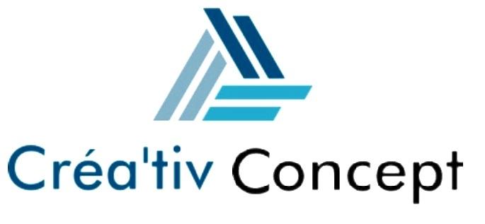 Logo de crea'tiv concept, société de travaux en Ravalement de façades