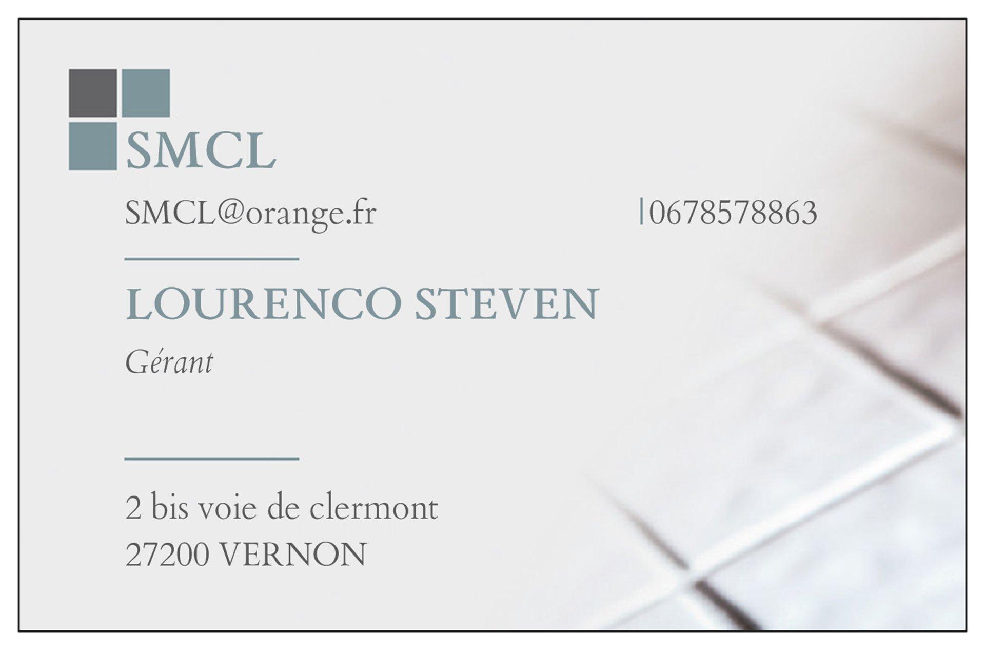 Logo de SMCL, société de travaux en Construction, murs, cloisons, plafonds