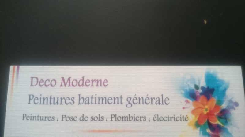Logo de Société deco moderne, société de travaux en Plomberie : installation ou rénovation complète
