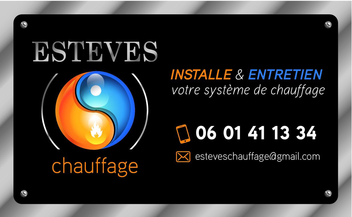 Logo de ESTEVES CHAUFFAGE, société de travaux en Chauffage - Chaudière - Cheminée