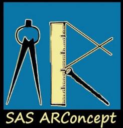 Logo de AR CONCEPT, société de travaux en Fourniture et pose d'éviers, de lavabos