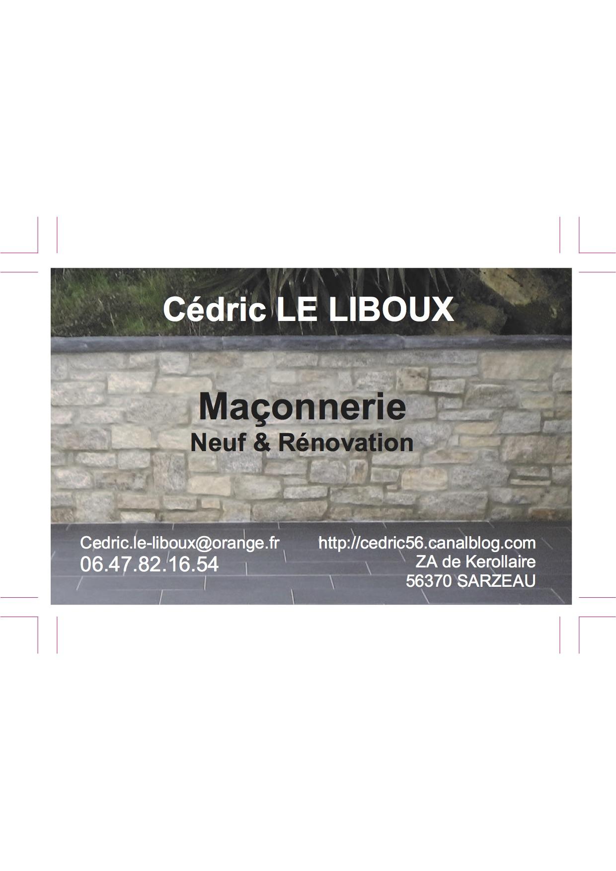 Logo de Maçonnerie Le Liboux, société de travaux en Construction de maison