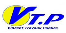 Logo de VINCENT.TP, société de travaux en Terrassement