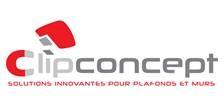 Logo de CLIPCONCEPT, société de travaux en Construction, murs, cloisons, plafonds