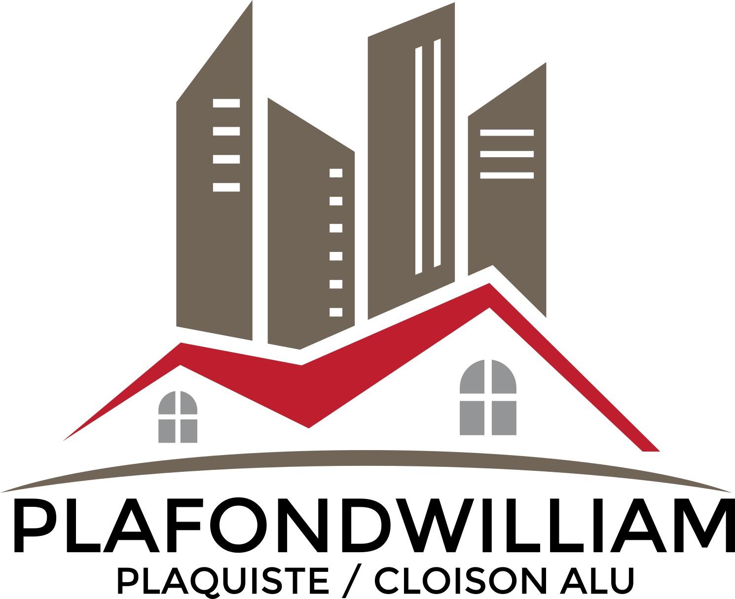 Logo de PLAFONDWILLIAM, société de travaux en Fourniture et pose de faux plafonds