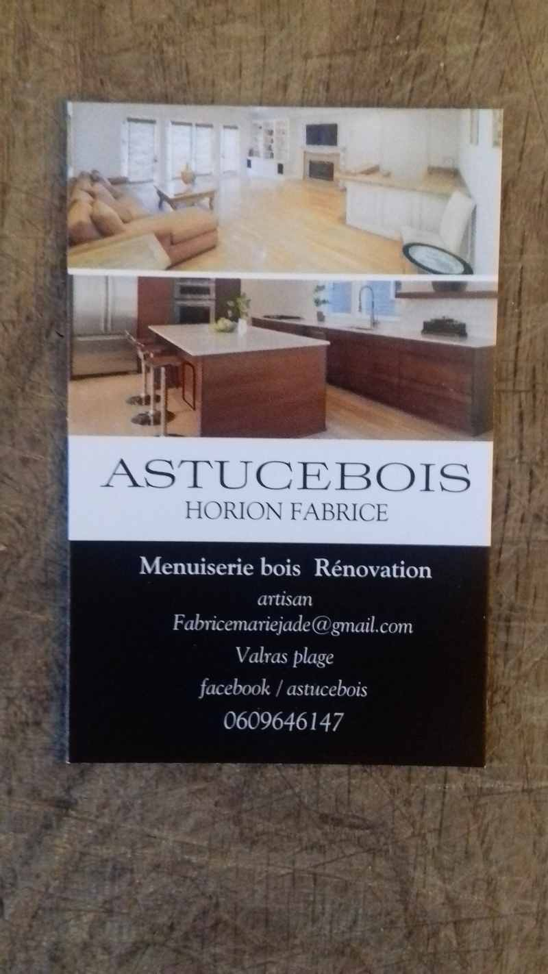 Logo de astuce bois, société de travaux en Fourniture et pose parquets