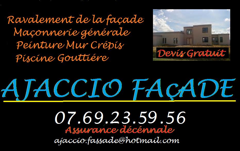 Logo de AJACCIOFASSADE, société de travaux en Construction de maison