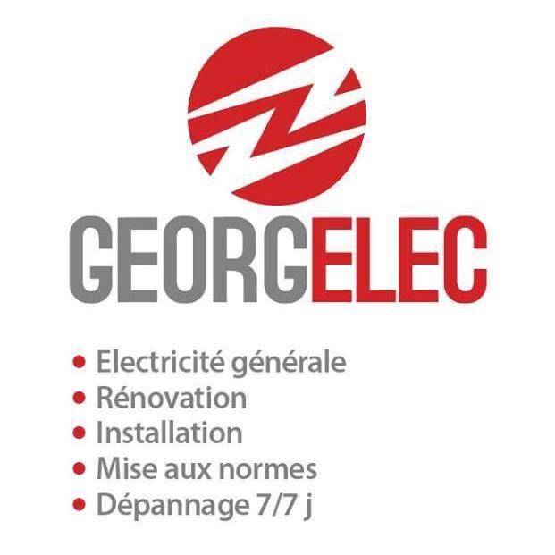 Logo de Georgelec, société de travaux en Petits travaux en électricité (rajout de prises, de luminaires ...)