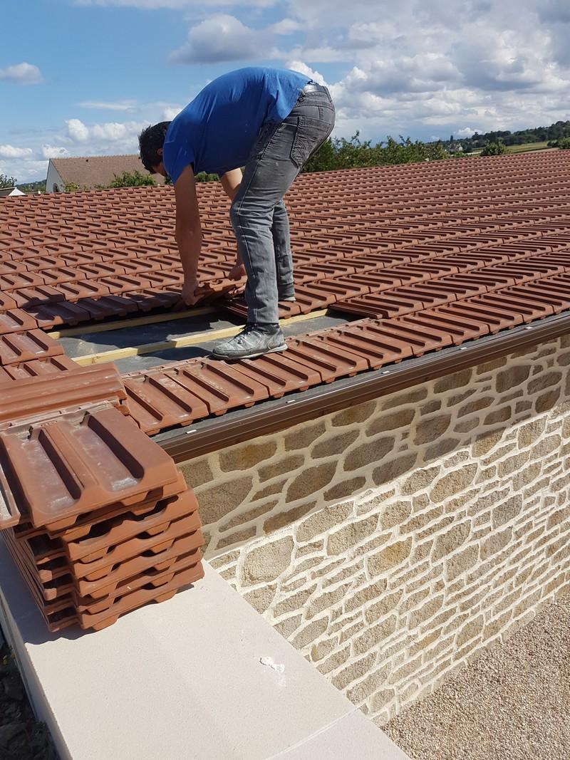 Logo de Maconerie, société de travaux en Construction, murs, cloisons, plafonds en plaques de plâtre