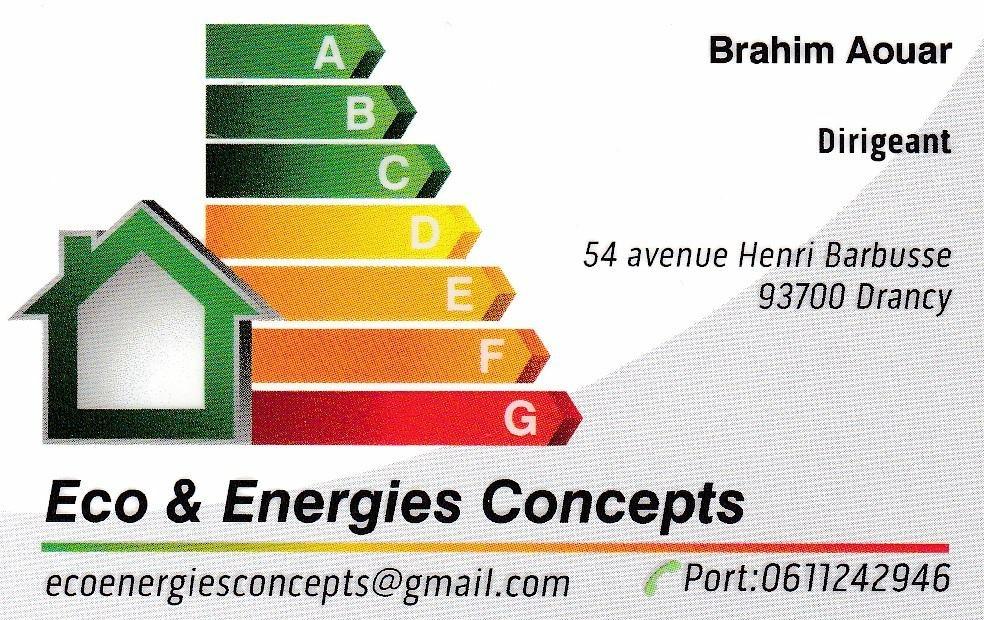 Logo de Eco & Energies Concepts, société de travaux en Installation VMC (Ventilation Mécanique Contrôlée)