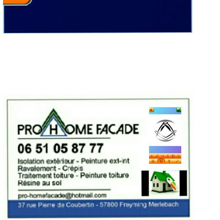 Logo de PRO HOME FACADE, société de travaux en Etanchéité - Isolation des toitures