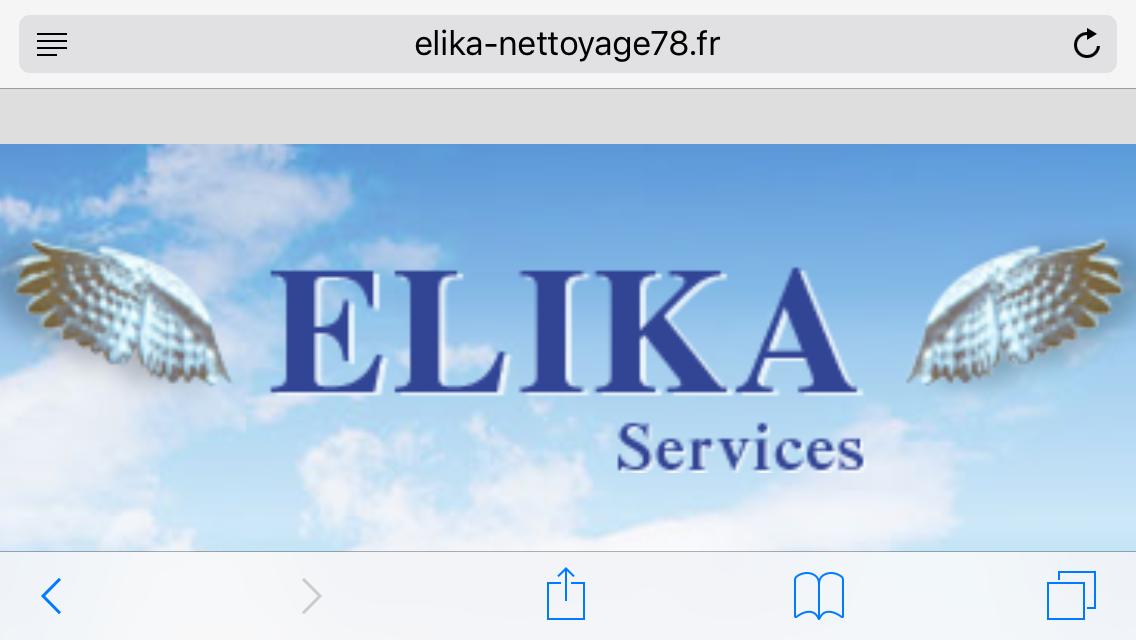 Logo de SARL elika, société de travaux en Nettoyage de vitre