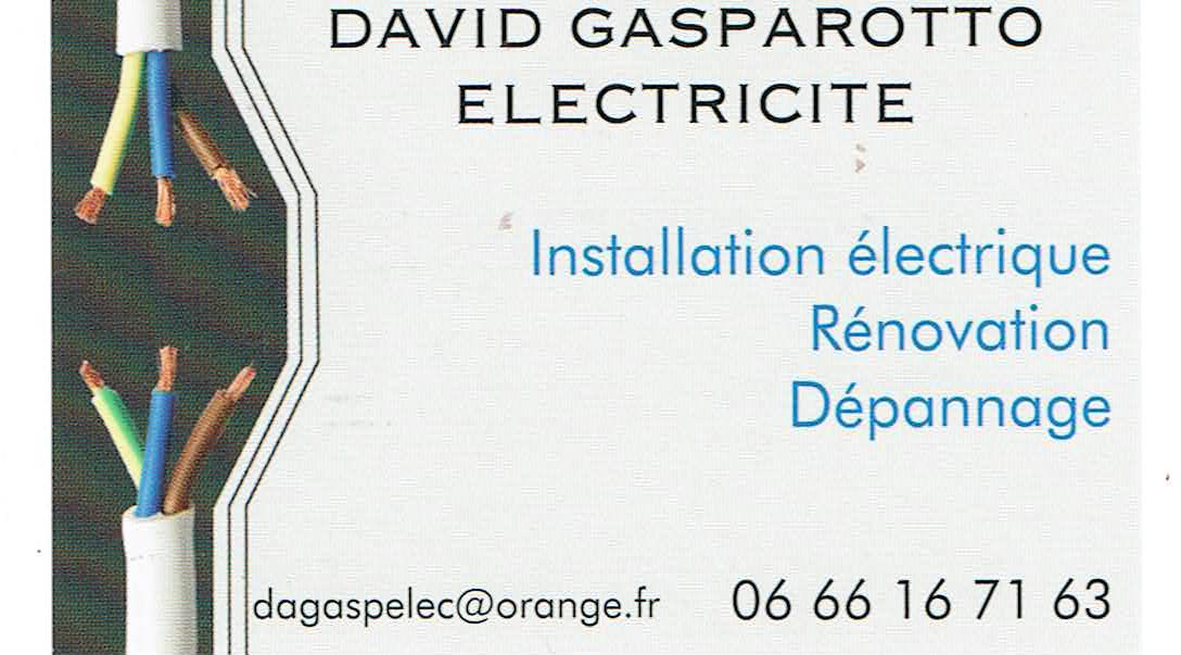 Société DAVID GASPAROTTO ELECTRICITE