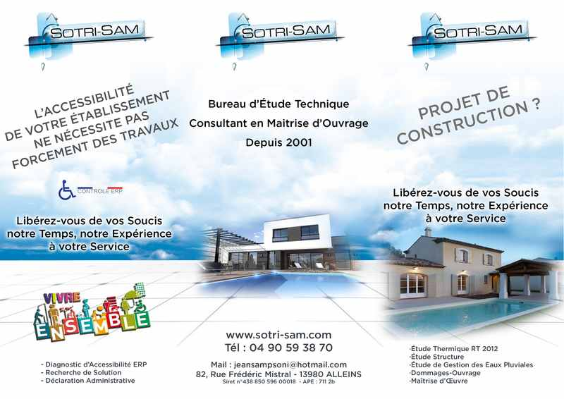Logo de SOTRI-SAM - Bureau d'étude technique en bâtiment, société de travaux en Extension de maison