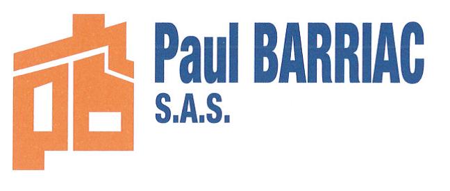 Logo de PAUL BARRIAC (SA), société de travaux en Couverture (tuiles, ardoises, zinc)