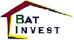 Logo de BAT INVEST, société de travaux en Construction, murs, cloisons, plafonds en plaques de plâtre