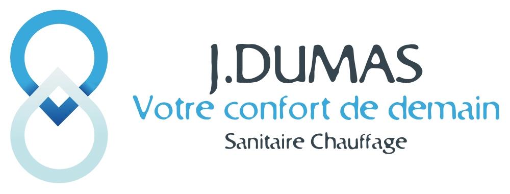 Logo de J.DUMAS, société de travaux en Fourniture et installation de lavabos, baignoires, douches, WC...