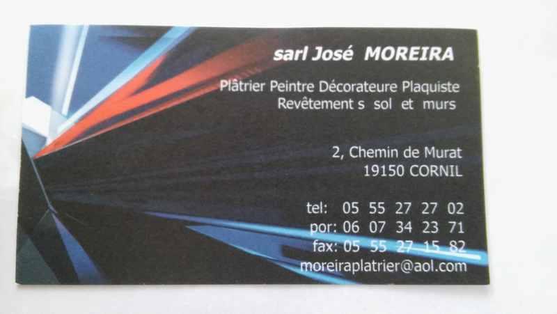 Logo de SARL MOREIRA JOSE, société de travaux en Travaux de décoration