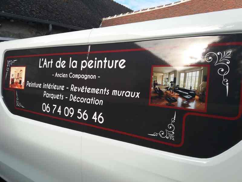 Logo de L'ART DE LA PEINTURE, société de travaux en Aménagement de combles