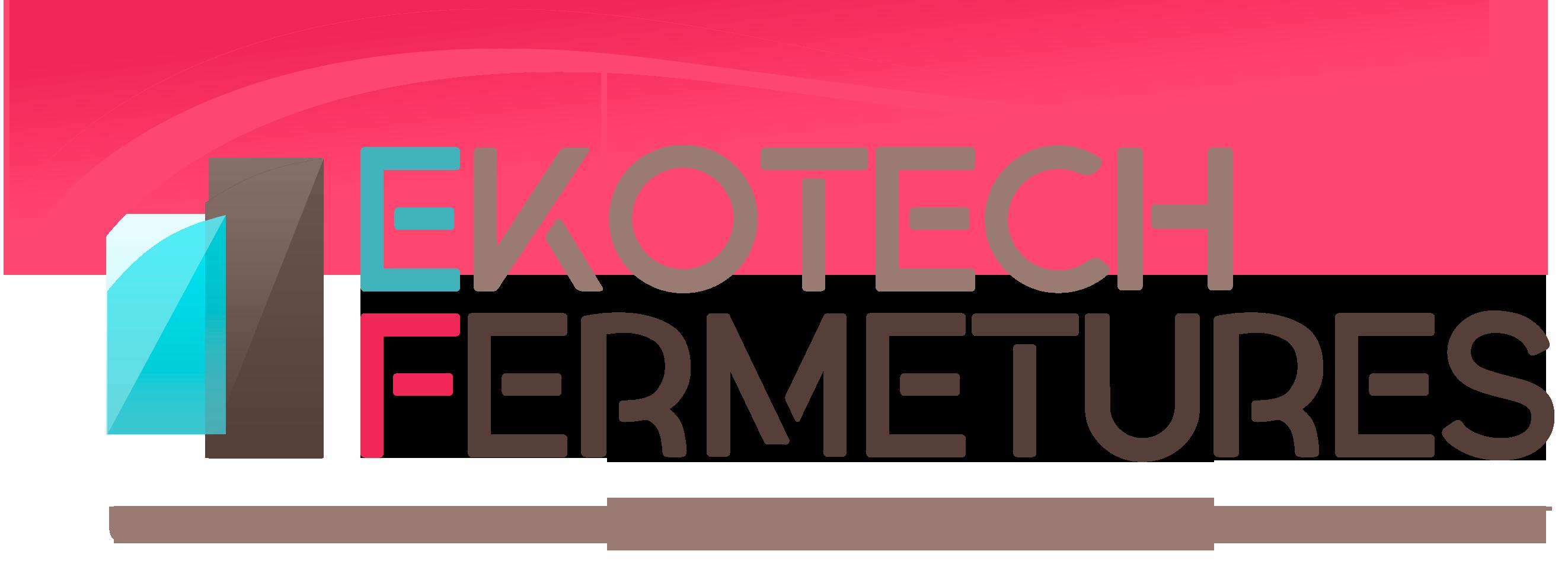 Logo de EKOTECH FERMETURES, société de travaux en Fourniture et installation de Volets roulant