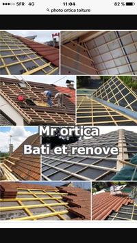 Logo de Ortica, société de travaux en Dépannage / réparation de toiture