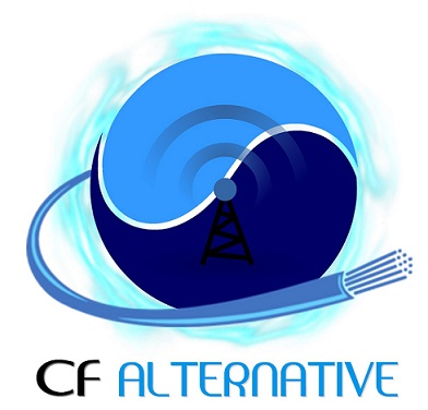 Logo de cf alternative, société de travaux en Alarme domicile