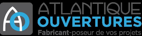 Logo de ATLANTIQUE OUVERTURES, société de travaux en Fourniture et remplacement de porte ou fenêtre en aluminium