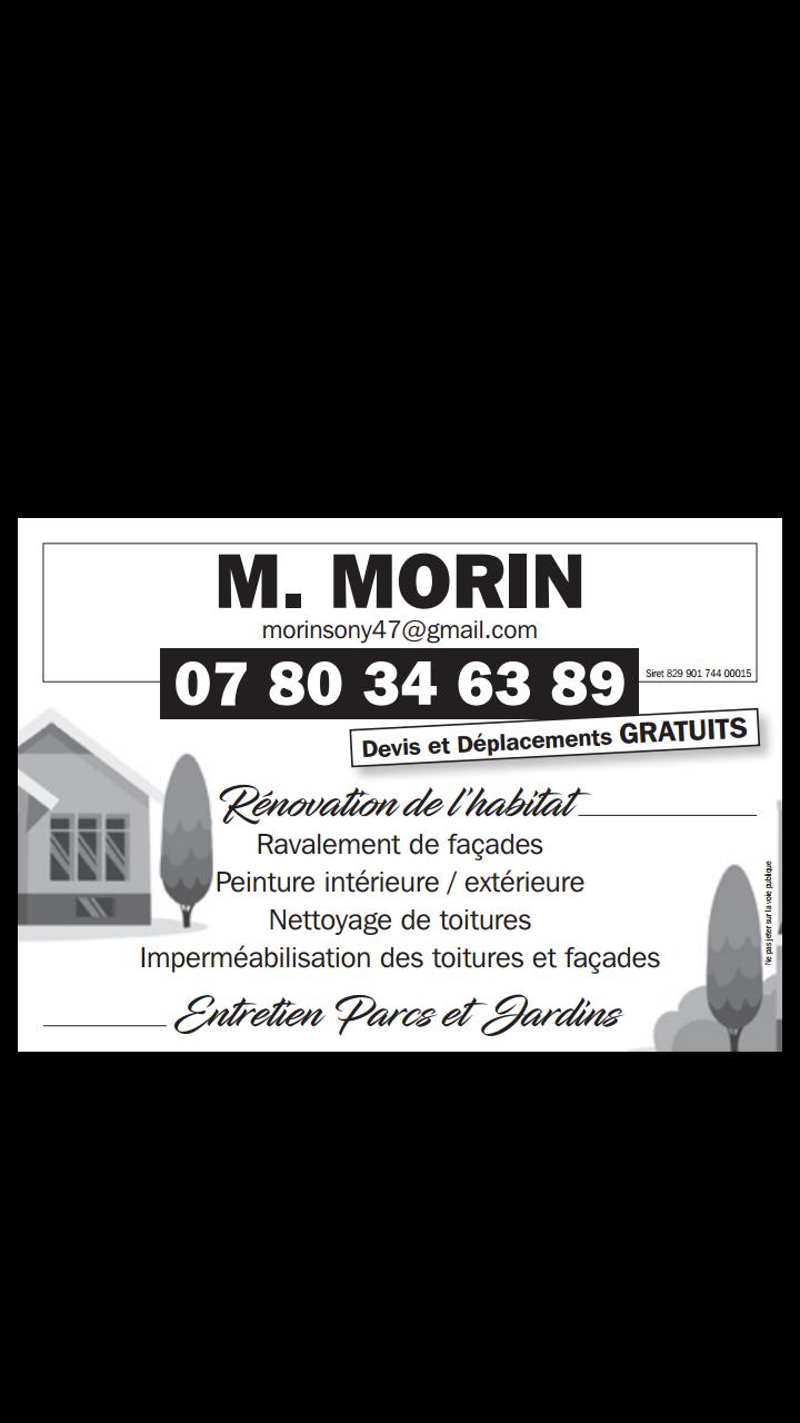 Logo de Mr.Morin Rénovation De l'habitat, société de travaux en Décrassage ou démoussage de toiture