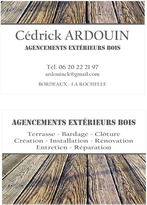 Logo de Cédrick Ardouin, société de travaux en Fourniture et pose parquets