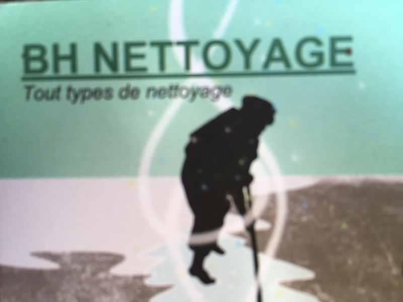 Logo de BH nettoyage, société de travaux en Nettoyage mur et façade