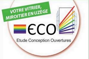 Logo de Etude Conception Ouvertures, société de travaux en Fourniture et remplacement de porte ou fenêtre en aluminium
