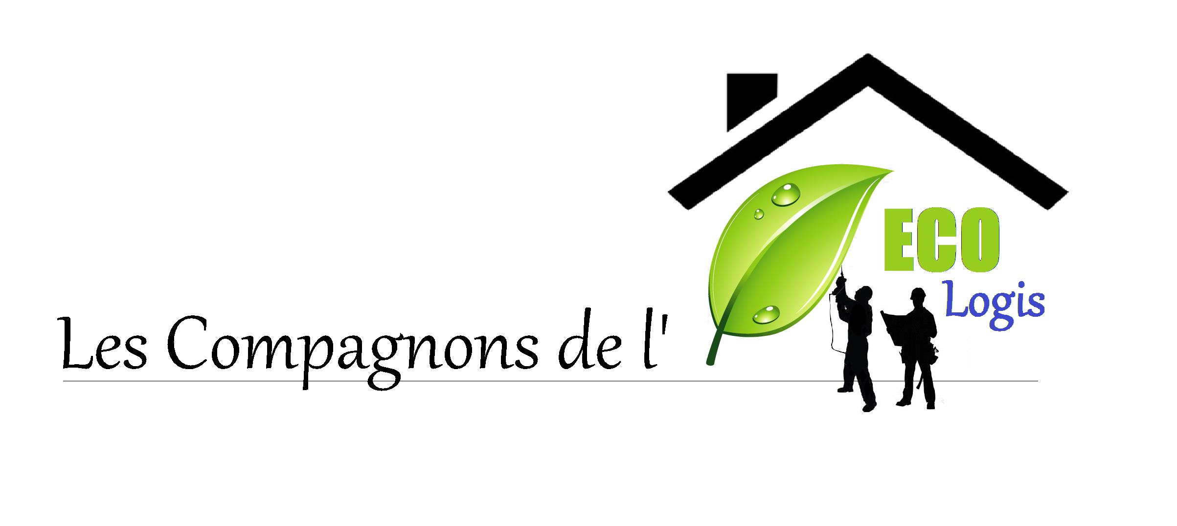 Logo de Les Compagnons de l'Eco-Logis, société de travaux en Isolation thermique des façades / murs extérieurs