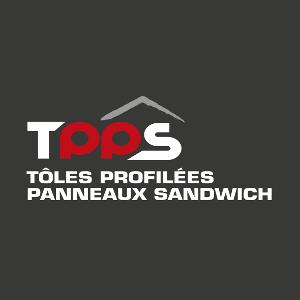 Logo de TPPS - Toles Profilees Panneaux Sandwich, société de travaux en Construction & Rénovation de cloisons