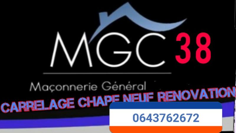 Logo de MGC38, société de travaux en Construction de maison