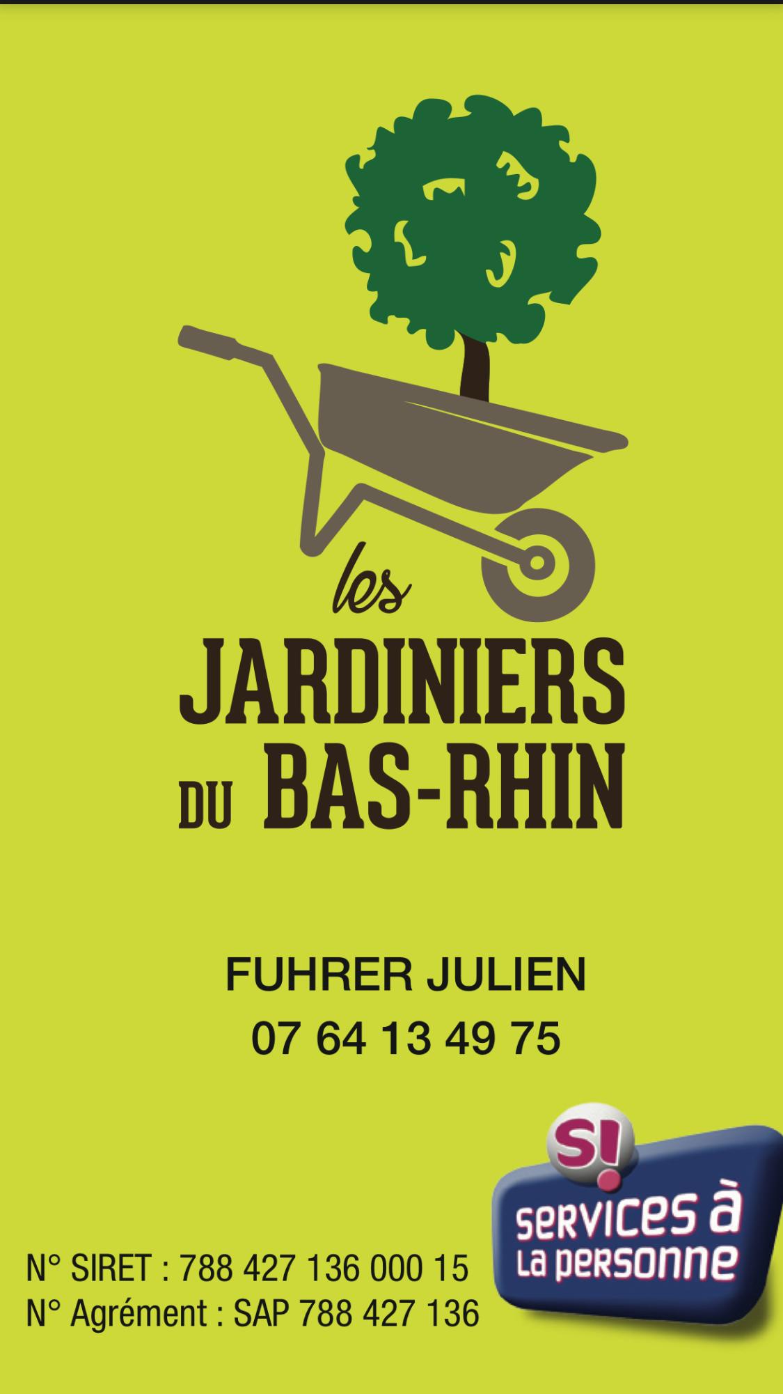 Logo de Les jardiniers du bas rhin, société de travaux en Dallage ou pavage de terrasses