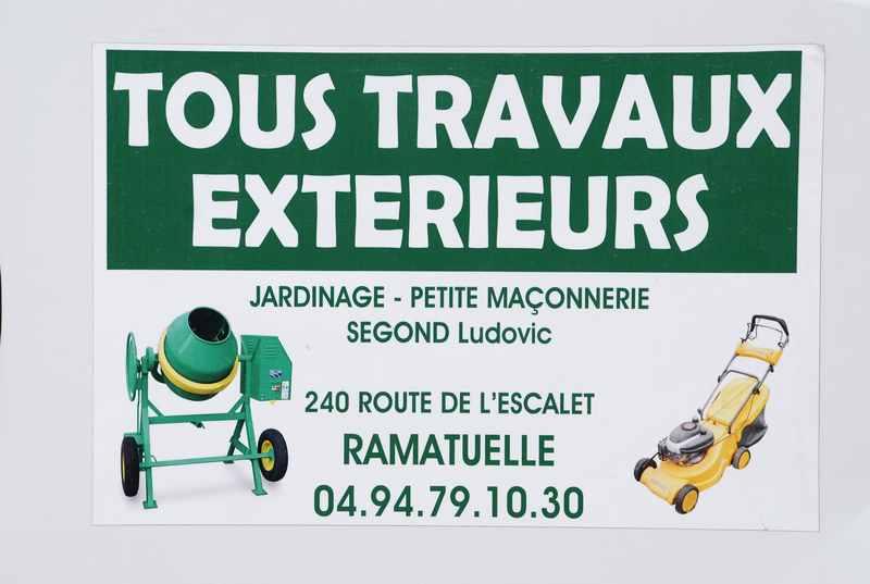 Logo de Segond Ludovic, société de travaux en Amélioration de jardin et de terrasse