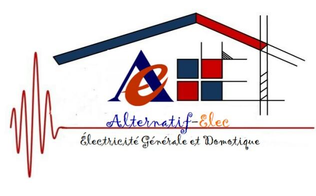 Logo de Alternatif-Elec, société de travaux en Installation électrique : rénovation complète ou partielle