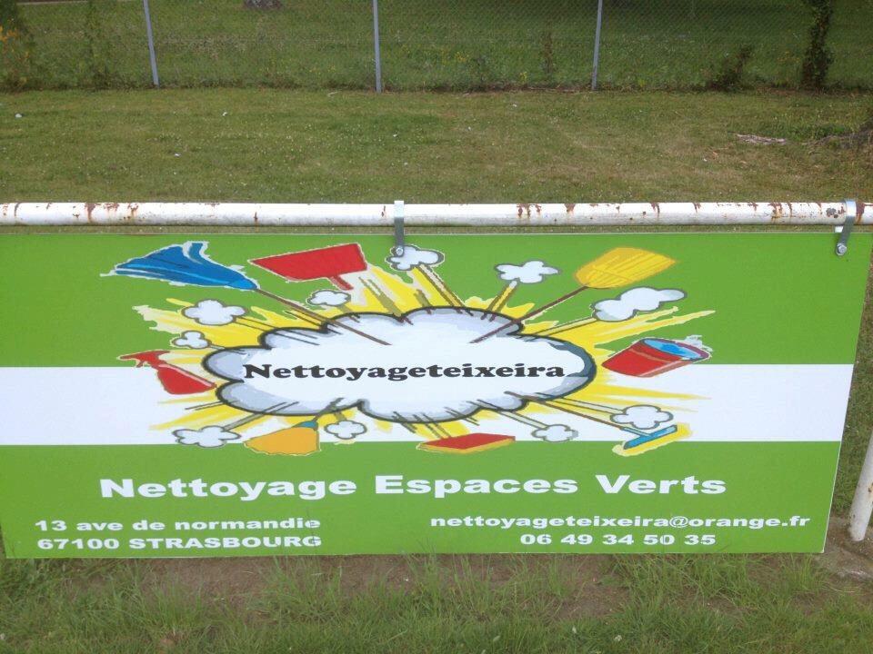 Logo de Nettoyage Teixeira, société de travaux en Nettoyage de copropriété