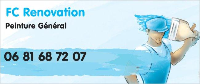 Logo de FC Renovation, société de travaux en Ravalement de façades