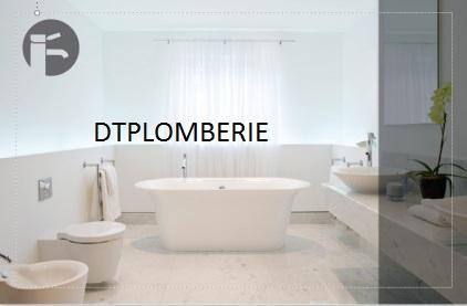 Logo de dtplomberie, société de travaux en Fourniture et installation d'éviers, de lavabos