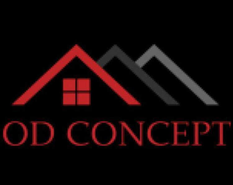 Logo de OD CONCEPT, société de travaux en Construction, murs, cloisons, plafonds en plaques de plâtre