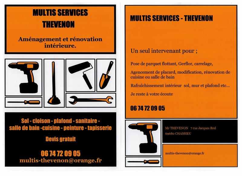 Logo de MULTIS SERVICES THEVENON, société de travaux en Rénovation complète d'appartements, pavillons, bureaux